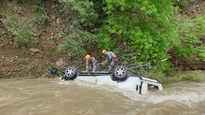 Ստեփանակերտ-Ասկերան ճանապարհին «Honda CR-V» մակնիշի ավտոմեքենան գլորվել է ձորը, հայտնվել գետում. վարորդը մահացել է