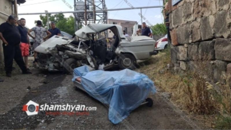 Ձորաղբյուրում բախվել են Porsche Cayenne-ն ու 06-ը. կա զոհ