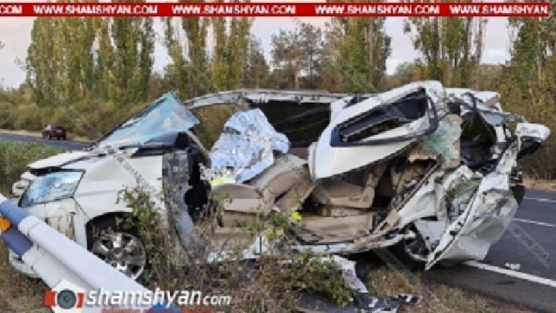 Չարենցավանում 31-ամյա պարեկը «Toyota»-ով բախվել է «ԶԻԼ»-ին. վարորդը տեղում մահացել է