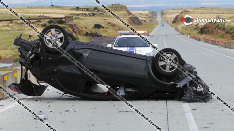 Խոշոր ավտովթար Արագածոտնի մարզում․ ճակատ-ճակատի բախվել են Mercedes-ն ու Kia-ն․ 4 վիրավորներից 2-ը երեխաներ են