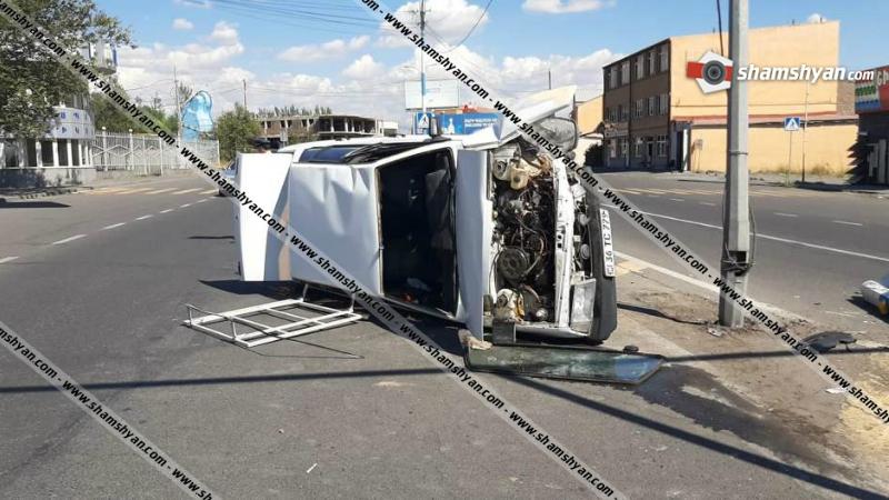 Խոշոր ավտովթար Երևանում․ կա վիրավոր