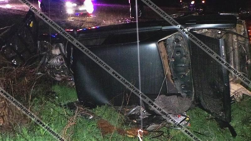 Ողբերգական ավտովթար Արմավիրի մարզում. բախվել են BMW-ն ու 07-ը. մայր ու որդի տեղում մահացել են. կան վիրավորներ