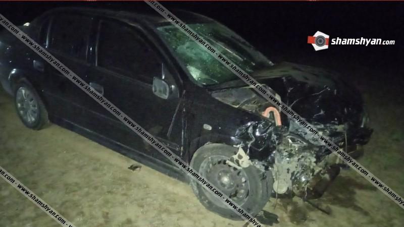Խոշոր ավտովթար Գեղարքունիքի մարզում. բախվել են Opel եւ ВАЗ 21150 ավտոմեքենաները. կա 5 վիրավոր