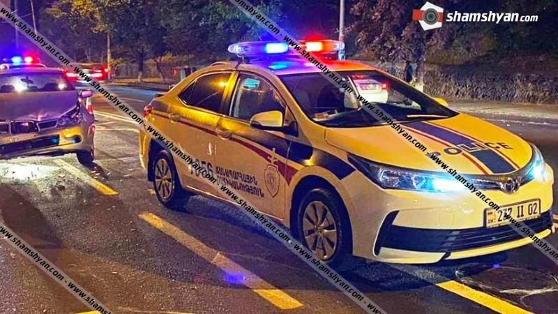 Երևանում 37-ամյա վարորդը ոչ սթափ վիճակում Subaru-ով բախվել է ճանապարհային ոստիկանության Toyota-ին. ՃՈ տեսուչը տեղափոխվել է հիվանդանոց