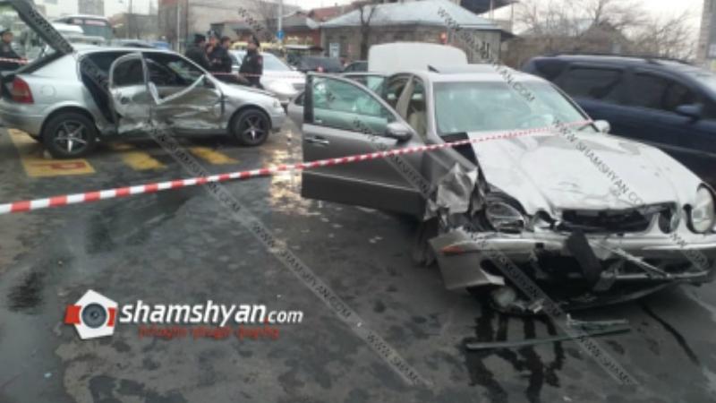 Խոշոր ավտովթար Սեբաստիա փողոցում․ վթարի հետևանքով 7 հոգի հոսպիտալացվել է
