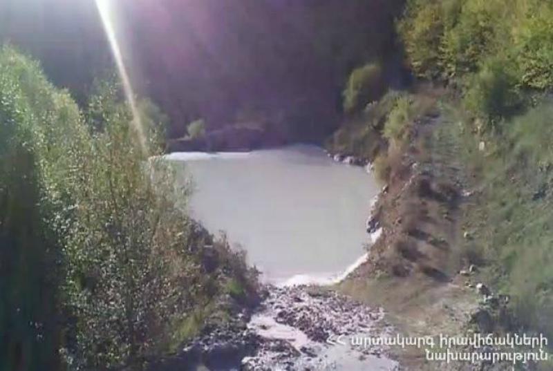 Ողջի գետն արտանետումներ լցվելու դեպքով հնարավոր է հարուցվի քրեական գործ