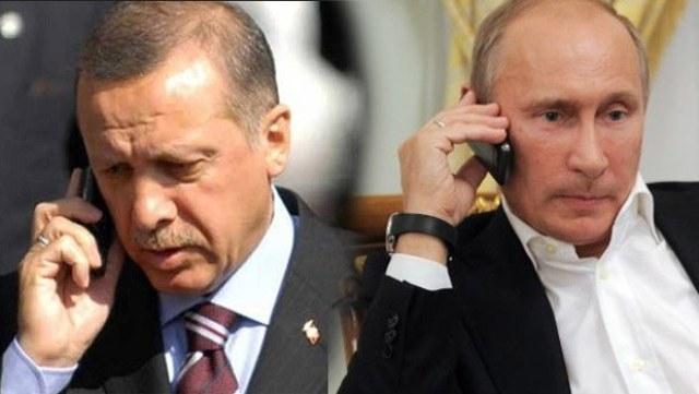Ռուսաստանի և Թուրքիայի նախագահները հեռախոսազրույց են ունեցել