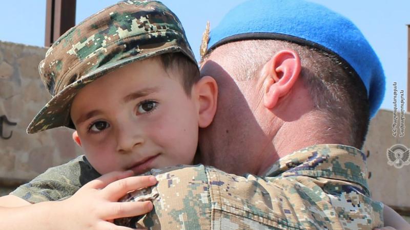 Հայ խաղաղապահների հերթական զորախումբն ավարտել է առաքելությունը և վերադարձել հայրենիք (լուսանկարներ)