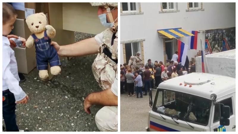 Ռուս խաղաղապահները հումանիտար-բժշկական ակցիա են կազմակերպել ԼՂ Վանք գյուղի բնակիչների համար