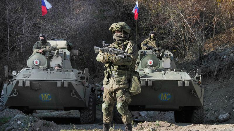 Ռուս խաղաղապահներն ուժեղացված հսկողություն են սկսել Երևան-Ստեփանակերտ ճանապարհին. «Իրավունք»