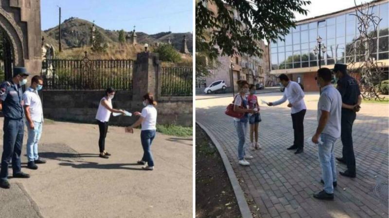 Արձանագրվել են դիմակը թերի կրելու դեպքեր. շարունակվել են խստացված ստուգայցերը ՀՀ Լոռու մարզում