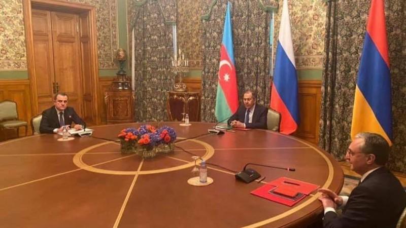 Մեկնարկել է Ռուսաստանի, Հայաստանի և Ադրբեջանի ԱԳ նախարարների բանակցությունները Ղարաբաղյան հարցով