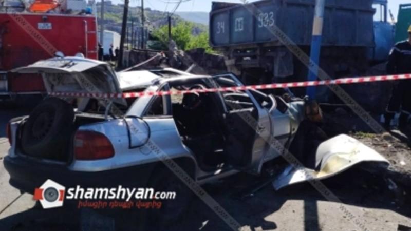 Խոշոր ավտովթար Երևանում. կա վիրավոր