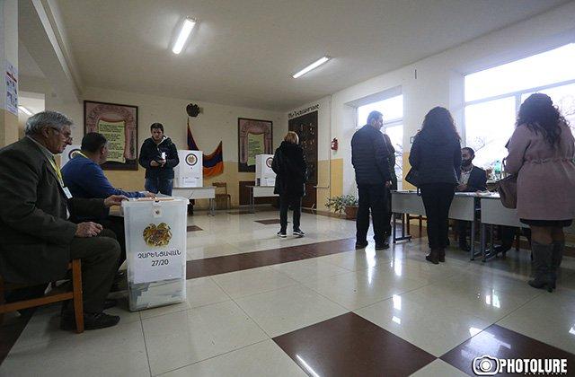 Արտաշատի  12/6 ընտրական տեղամասում ավարտվեց ձայների հաշվարկը
