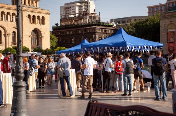 ԵՄ պատվիրակությունը միացել է Երիտասարդության միջազգային օրվա միջոցառումներին