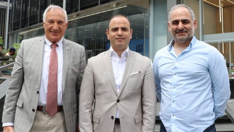 Զարեհ Սինանյանը հանդիպել  Ամերիկահայ ճարտարագետների և գիտնականների ընկերակցության ներկայացուցիչների հետ