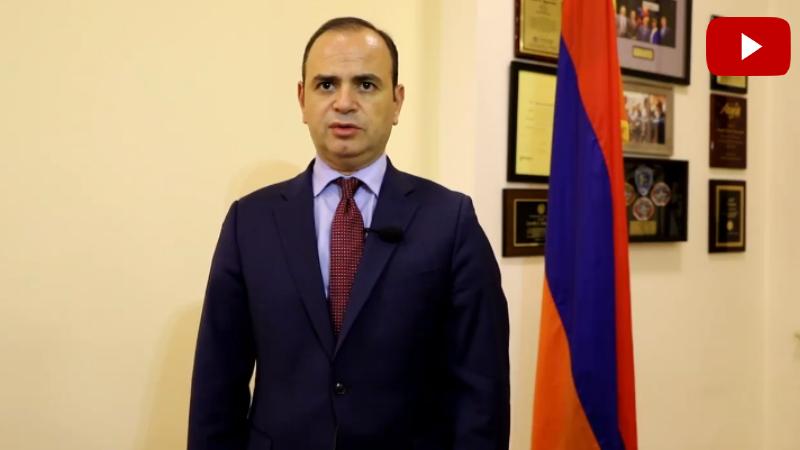 Կանգնենք մեր հայրենիքի, մեր բանակի, հայ զինվոր կողքին և հաղթենք միասին․ ՀՀ սփյուռքի գործերի գլխավոր հանձնակատարի կոչը