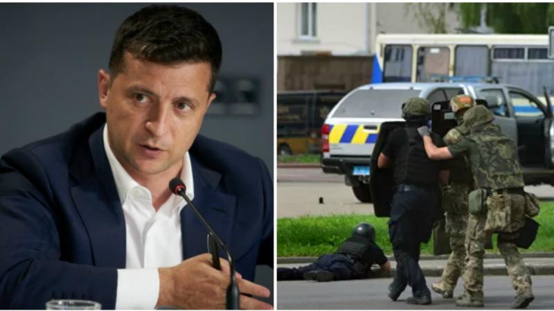 Ուկրաինայի նախագահն անձամբ է բանակցել Լուցկում պատանդներ վերցրած տղամարդու հետ, ինչից հետո վերջինս ազատ է արձակել երեք մարդու