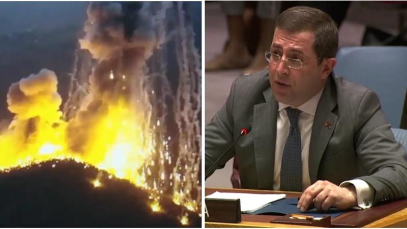 ՄԱԿ-ում ՀՀ մշտական ներկայացուցիչը ԱԽ-ի ուշադրությունն է հրավիրել Արցախի բնակիչների դեմ արգելված զինատեսակների կիրառման վրա