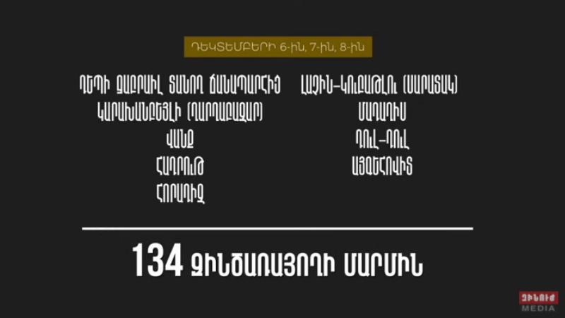 Հայ զինծառայողների մարմինների դուրսբերման աշխատանքները շարունակվում են. ՀՀ ՊՆ