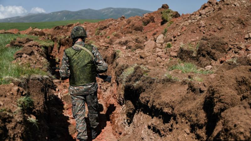 Նախագահի հրամանագրով մի խումբ զինծառայողներ պարգևատրվել են պետական պարգևներով