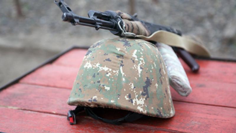 Հակառակորդի կրակոցից զոհված զինծառայող Արթուր Մուրադյանը հետմահու պարգևատրվել է Մարտական ծառայության մեդալով