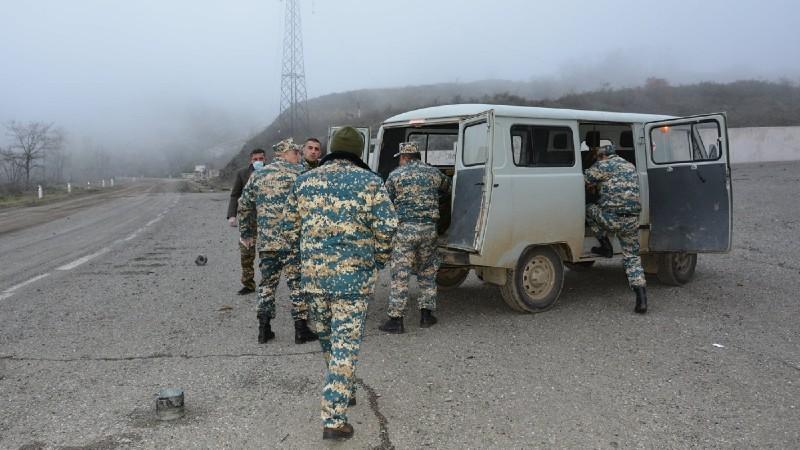 Մարտակերտի զորամասերից մեկի հավաքակայանից փոխանցվել է նախնական տվյալներով 2 զինծառայողի մասունք