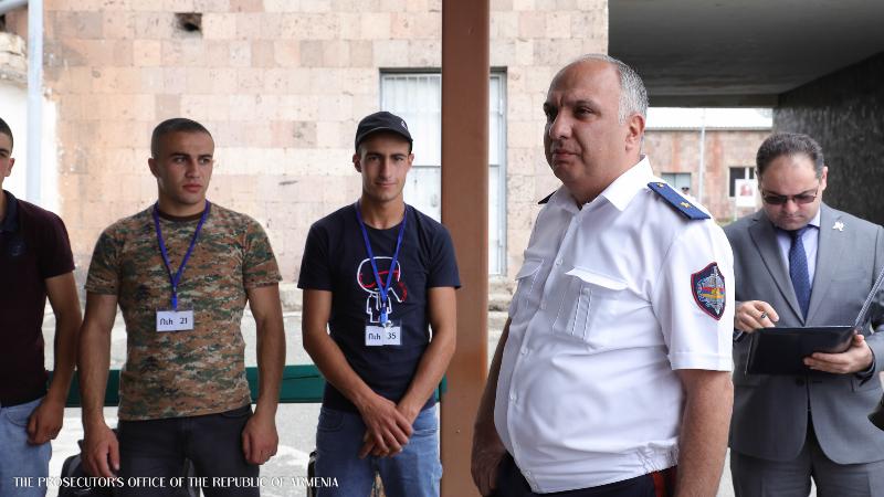 ՀՀ զինվորական դատախազը ներկա է գտնվել կենտրոնական հավաքակայանում անցկացվող բժշկական հետազոտությունների կազմակերպմանը