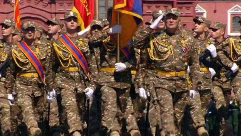 Հայաստանի զինված ուժերը՝ Մոսկվայի զորահանդեսին  (տեսանյութ)