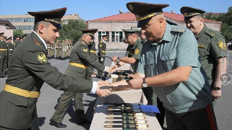 Տեղի է ունեցել ռազմական ավիացիոն համալսարանի շրջանավարտների ավարտական միջոցառումը (լուսանկարներ)