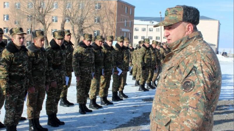 Պարտադիր ժամկետային ծառայությունն ավարտած զինծառայողները զորացրվել են