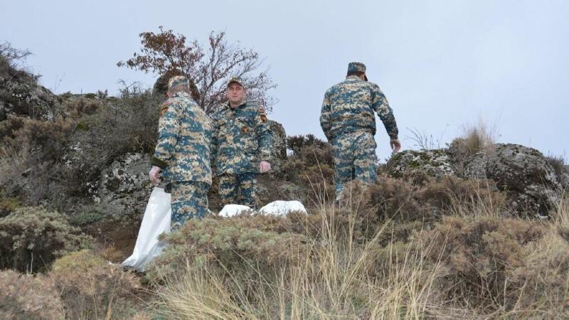 Հադրութի, Ջաբրայիլի և Ֆիզուլու հատվածներում հայտնաբերվել է 14 զինծառայողի աճյուն