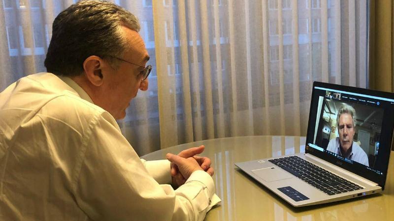 Զոհրաբ Մնացականյանը հանդիպել է ԱՄՆ Կոնգրեսի ներկայացուցիչների պալատի հայկական հարցերով հանձնախմբի անդամների հետ