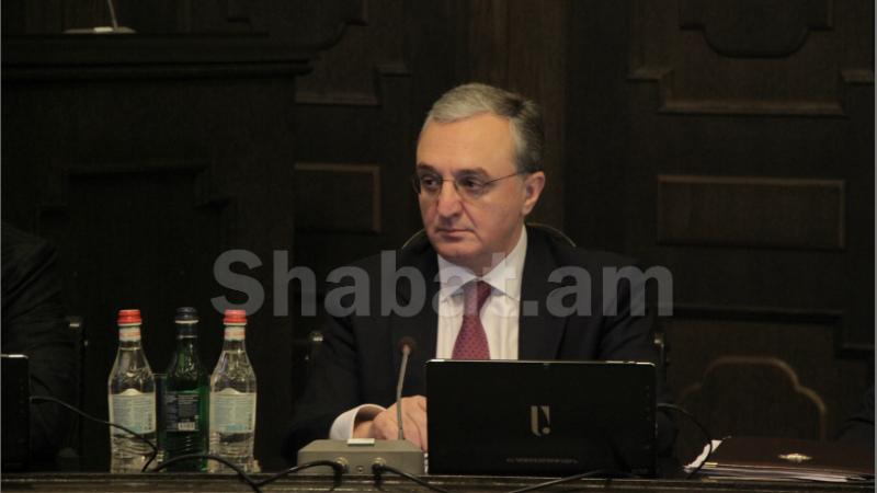 Անտեսելով ռազմական գործողությունները դադարեցնելու միջազգային հանրության կոչերը՝ Ադրբեջանը շարունակում է Արցախի դեմ ագրեսիան. Զոհրաբ Մնացականյան
