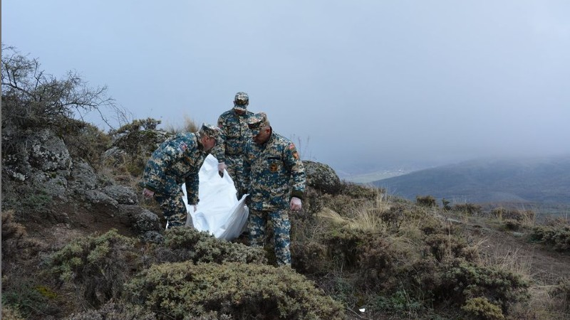 Զոհված զինծառայողների մարմինների որոնման ու փոխանակման աշխատանքները գրեթե ավարտվել են Շուշիի և Մարտակերտի ուղղություններում