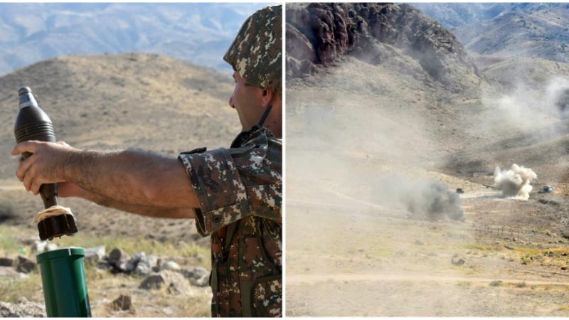 5-րդ զորամիավորման զորամասերից մեկում անցկացվել է զորավարժություն՝ մարտական հրաձգությամբ (լուսանկարներ)