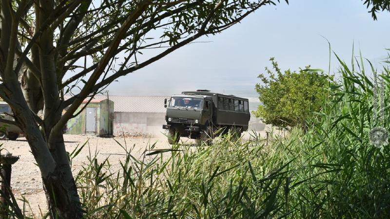 5-րդ զորամիավորման հրամանատարի ղեկավարությամբ մեկնարկել է հրամանատարաշտաբային զորավարժությունը (լուսանկարներ)