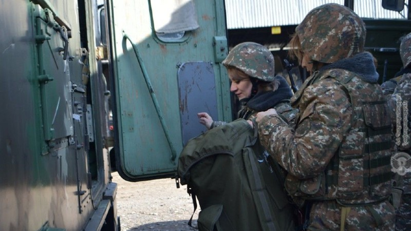 4-րդ զորամիավորումում անցկացվել են մասնագիտական վարժանքներ. ՊՆ