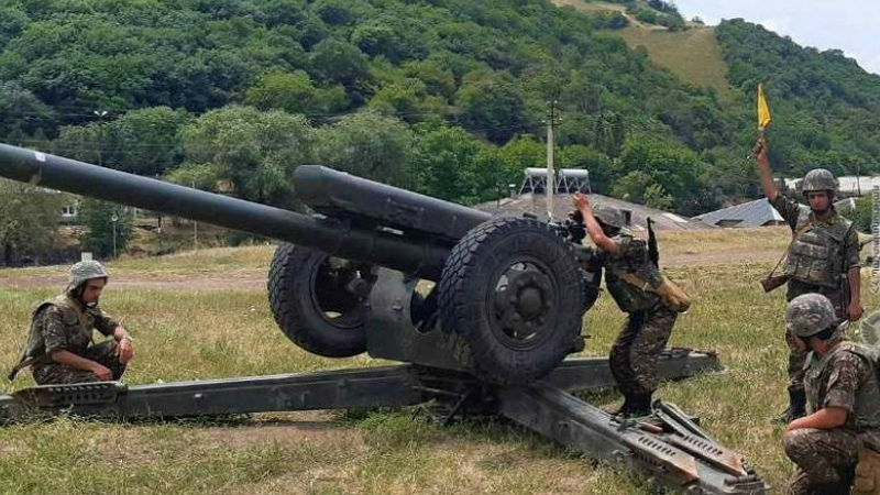 Գործնական պարապմունքներ են անցկացվել 3-րդ զորամիավորման N զորամասի հրետանային ստորաբաժանումների ներգրավմամբ