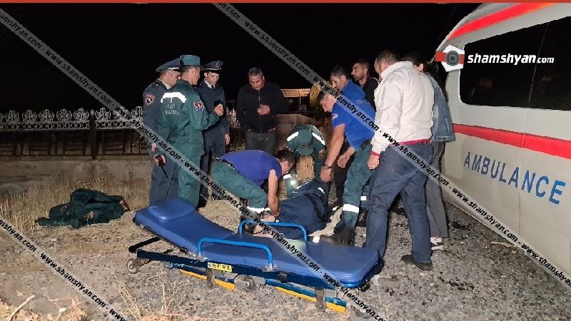 Արտակարգ դեպք Կոտայքում. Զովունիի գերեզմանոցում կիսամերկ վիճակում հայտնաբերվել է կապկպված պահակն ու նրա վառվող մեքենան