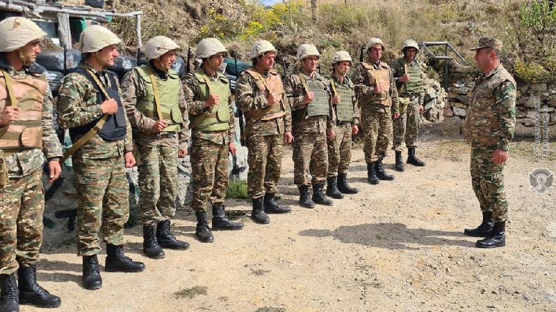 ԶՈւ ԳՇ զորքերի ծառայության վարչության աշխատանքային խումբը շրջայց է կատարել արևելյան ուղղության զորամասեր