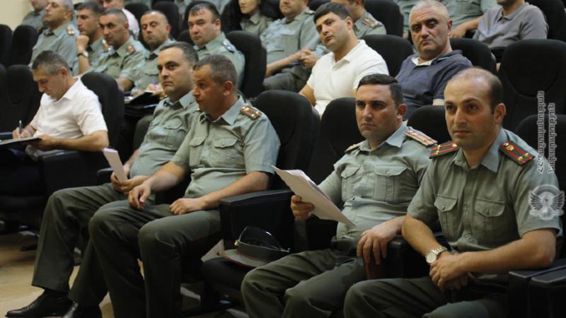 Զինված ուժերում անցկացվել է իրավաբանների հավաք