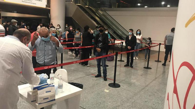 Ուժեղացված գրաֆիկ ու անվտանգության նորմերի դիտարկում՝ «Զվարթնոց» օդանավակայանում․ ԱԱՏՄ