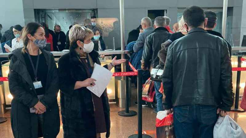 Covid-անվտանգության ստուգայցեր`«Զվարթնոց» օդանավակայանում