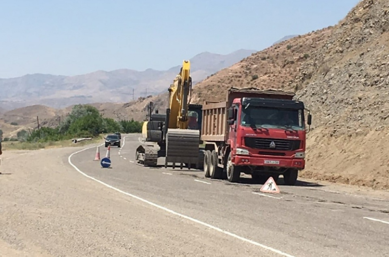 Մեկնարկել են Մ2 Երևան-Երասխ-Գորիս-Մեղրի-հայ-իրանական սահման միջպետական նշանակության ավտոճանապարհի կմ126+100-կմ131+500 հատվածի հիմնանորոգման աշխատանքները