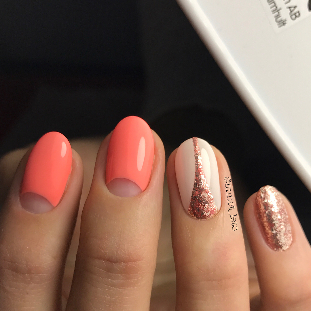 Дизайн ногтей овальной формы 2018 фото новинки