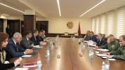 ՀՀ ՊՆ վարչական համալիրում անցկացվել է միջգերատեսչական հանձնաժողովի նիստ (լուսանկարներ)