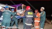Արմավիրի մարզում «Բելառուս» տրակտորը կողաշրջվել է. վարորդին մեքենայից դուրս են բերել փրկար...