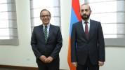 Արարատ Միրզոյանը հանդիպել է Հայաստանում Բրազիլիայի դեսպանի հետ
