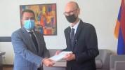 Մալթայի Հանրապետության դեսպանն իր հավատարմագրերի պատճենը հանձնեց ՀՀ ԱԳ նախարարի տեղակալին